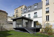 Extension-réhabilitation d'un Hôtel particulier, Levallois-Perret